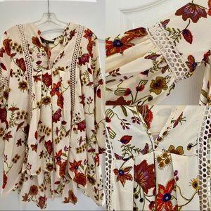 Zaka Woman Peasant style blouse